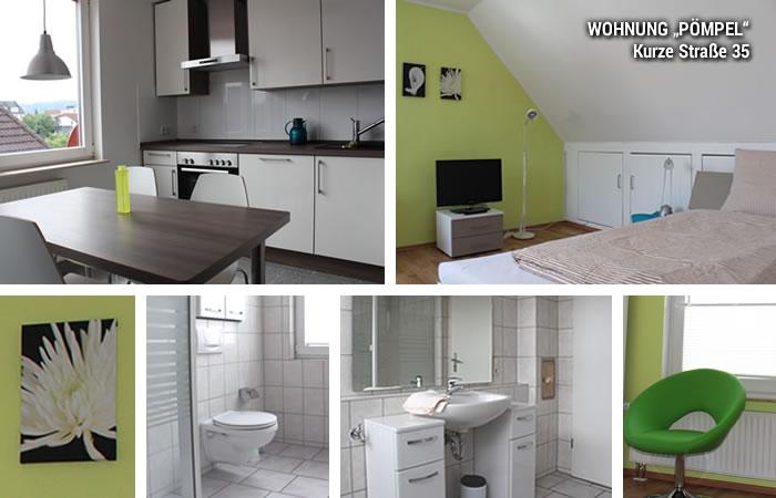 wohnen auf zeit in bielefeld apartments on kurze strasse p mpel. Black Bedroom Furniture Sets. Home Design Ideas