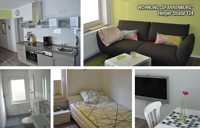 wohnen auf zeit in bielefeld wohnungen heeper strasse sparrenburg. Black Bedroom Furniture Sets. Home Design Ideas